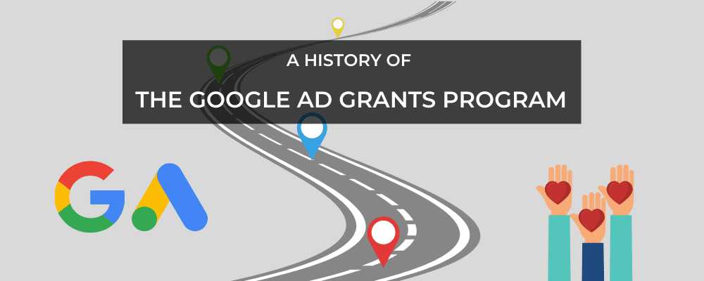 History of Google Ad Grants banner